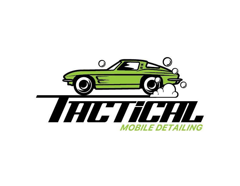 Tactical Mobile Detailing Logo Final Logo on White
