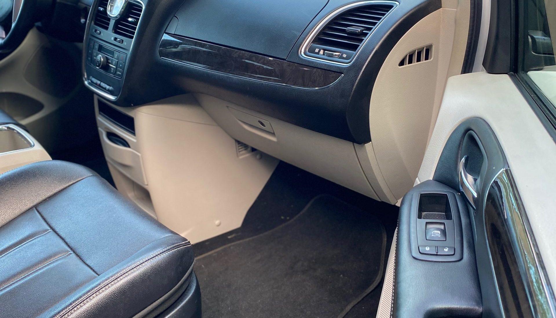 mid-size car interior deep clean